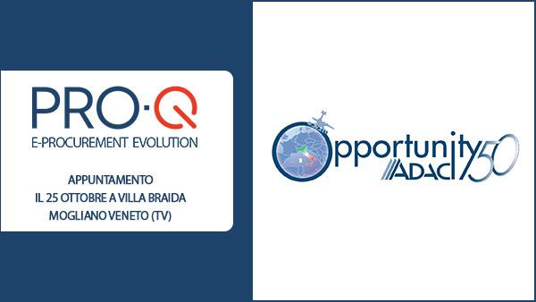 PRO-Q ad Opportunity 50, l'evento di Networking tra soci ADACI e Aziende Partner