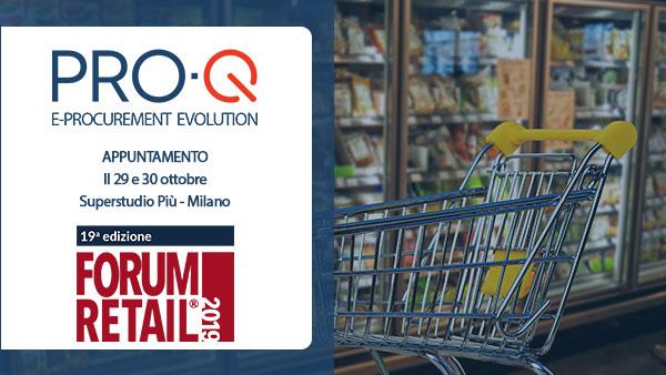 PRO-Q e Venicecom a Forum Retail 2019